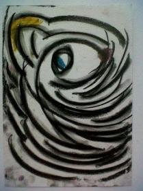 Medium: Chalk Pastel on Paper