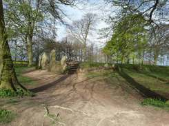 Waylands Smithy Ancient Longbarrow (North West Facing)