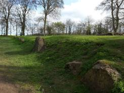 Waylands Smithy Ancient Longbarrow (South West Facing)