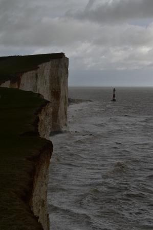 Jagged cliff edges