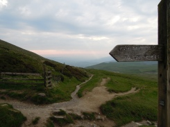Signpost to Mam Tor