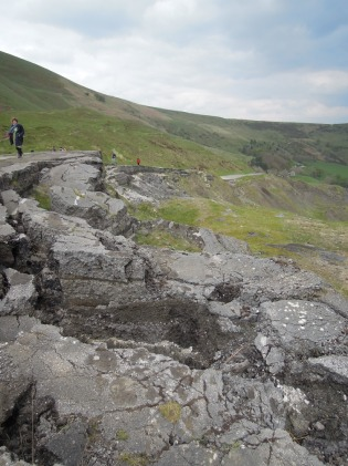 Broken Road near Mam Tor